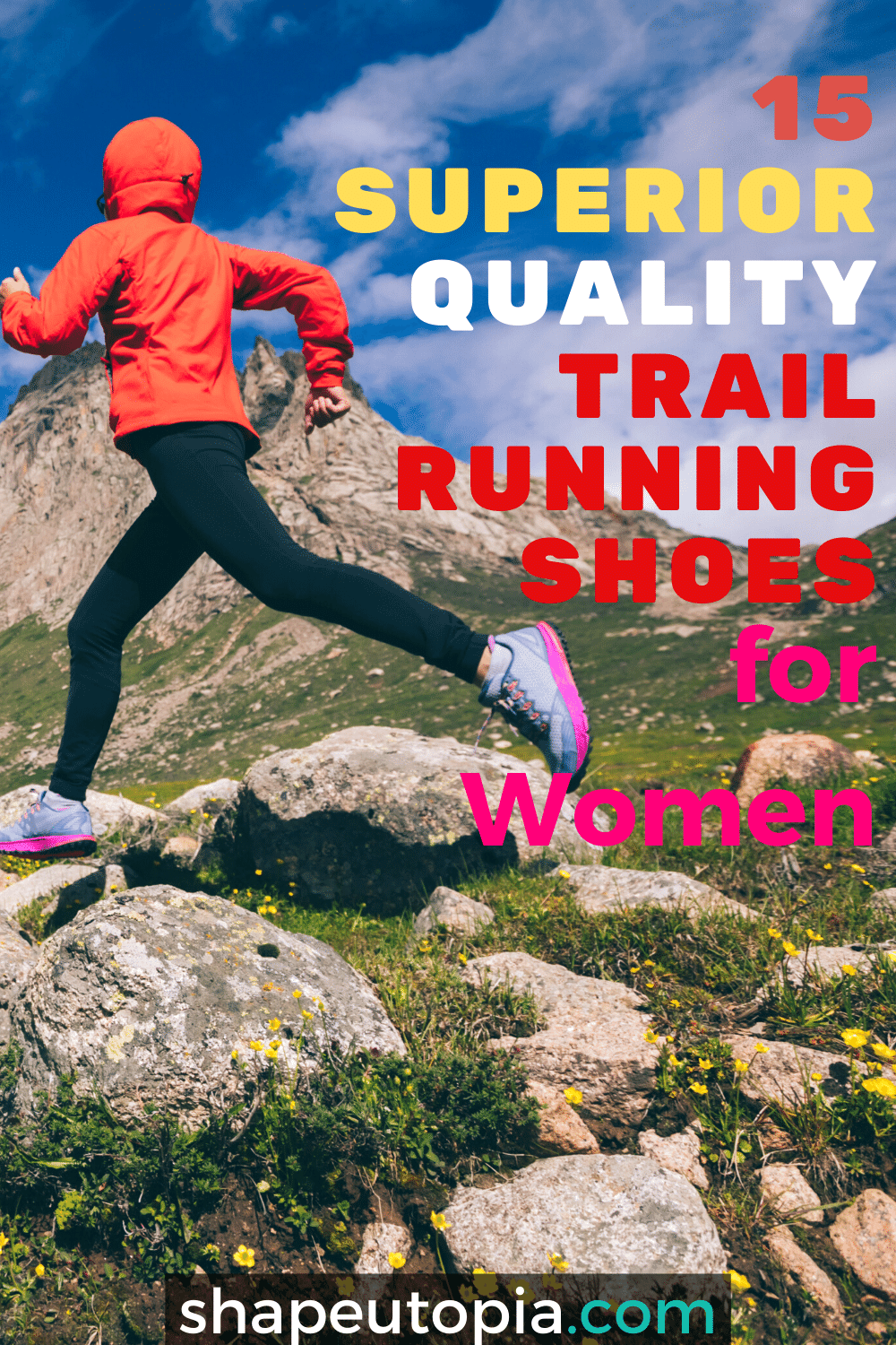 Superior Quality Trail Running Shoes for Women