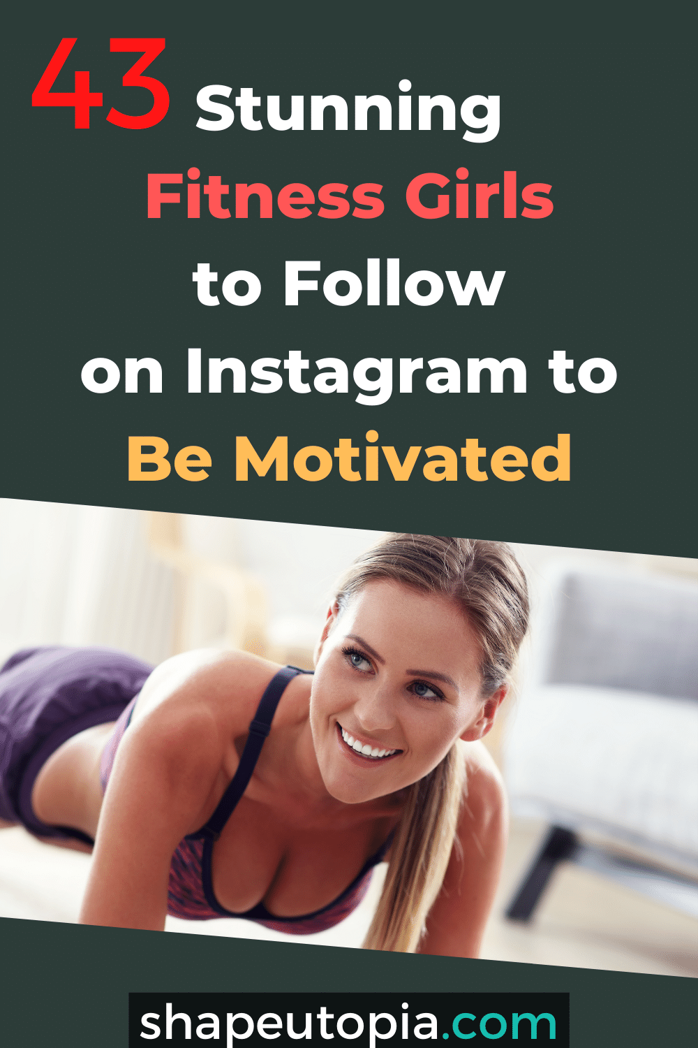 Stunning Fitness Girls to Follow on Instagram to Be Motivated