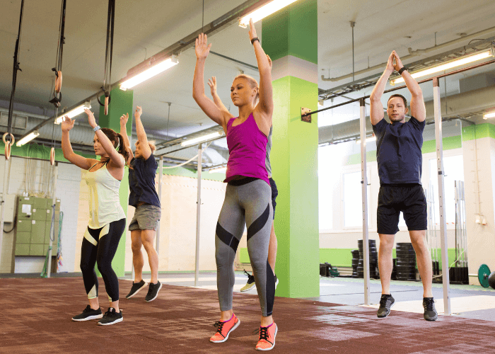 Burpees workout for beginners