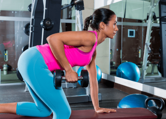 Dumbbell Bent-over Row