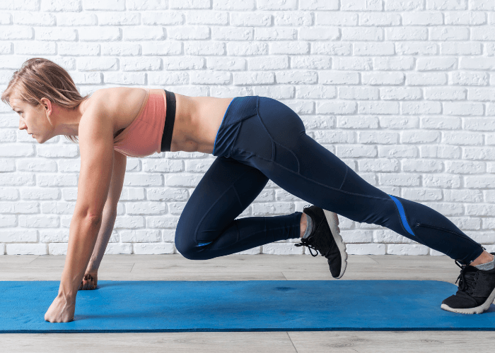 Mountain Climbers workout for beginners
