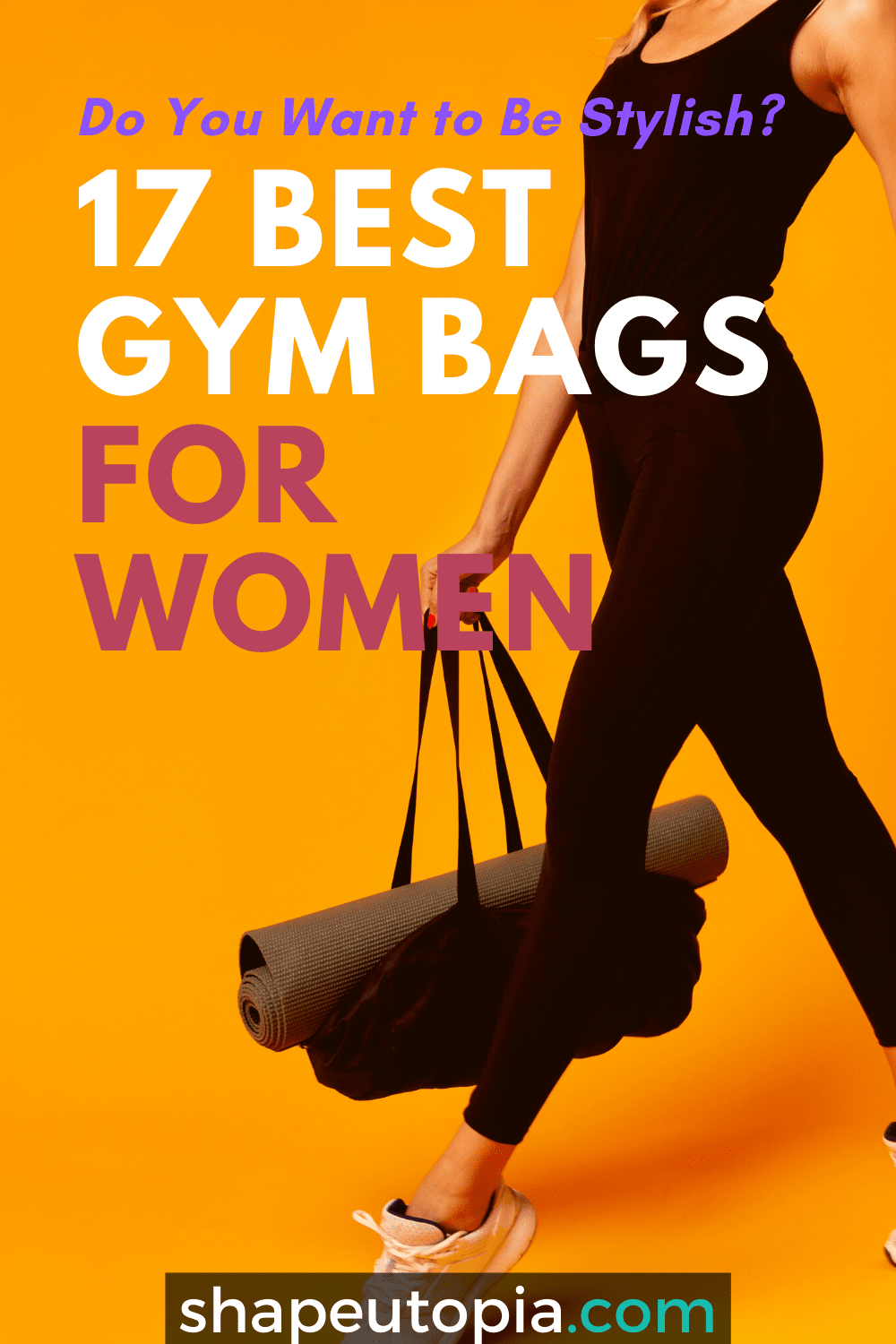17 Best Gym Bags for Women Who Want to Be Stylish