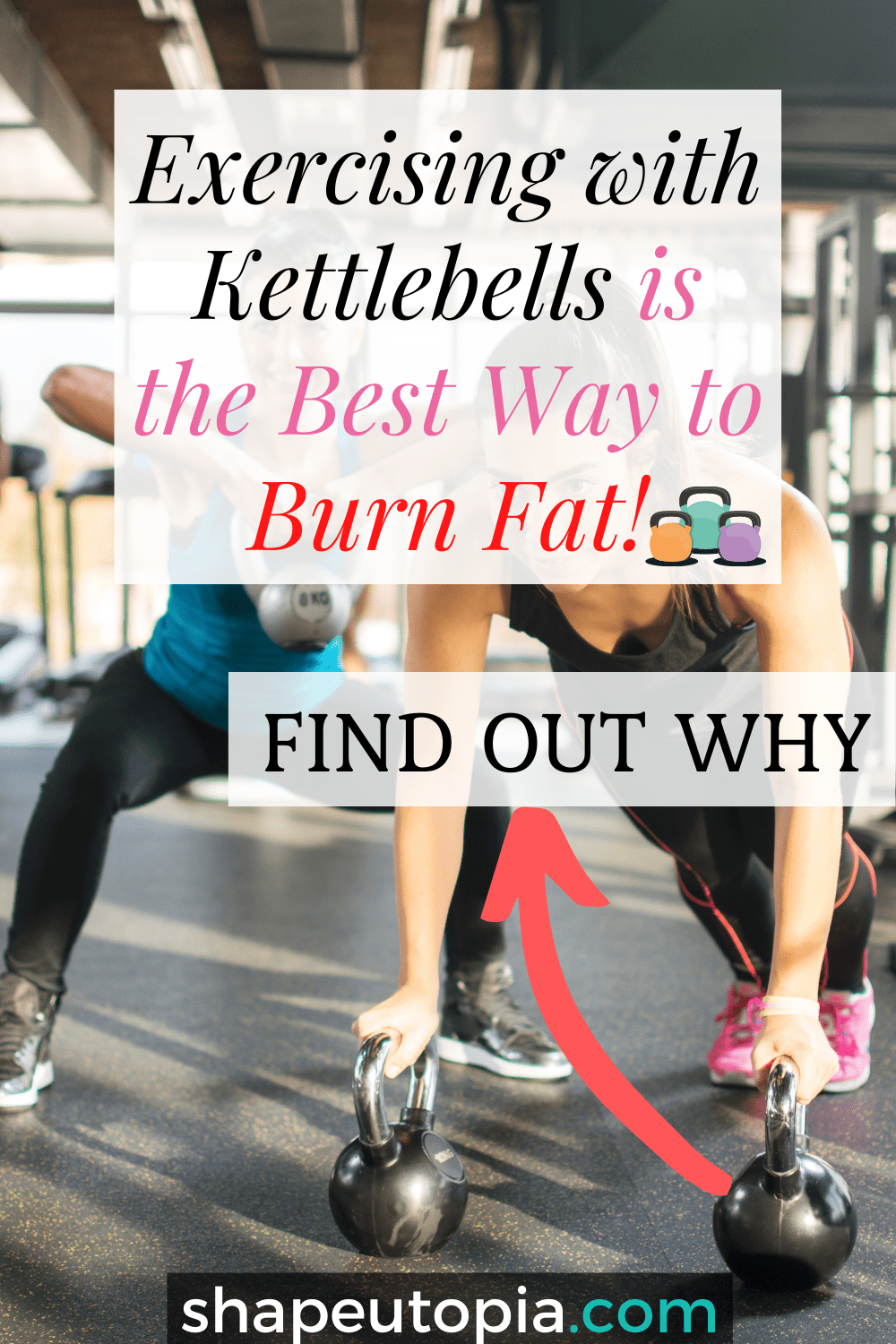 Exercising with Kettlebells is the Best Way to Burn Fat!