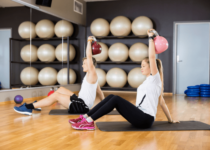 turkish get up kettlebell Exercising with Kettlebells is the Best Way to Burn Fat!