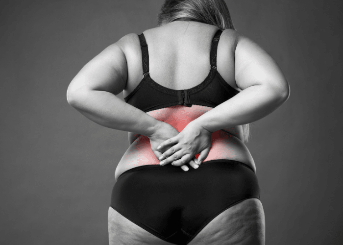 Can Back Fat Cause Back Pain?