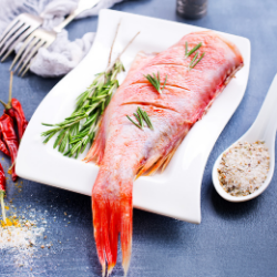fish Foods High in Iron