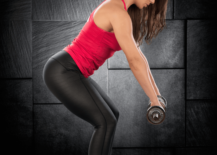 Back Workout with Dumbbells