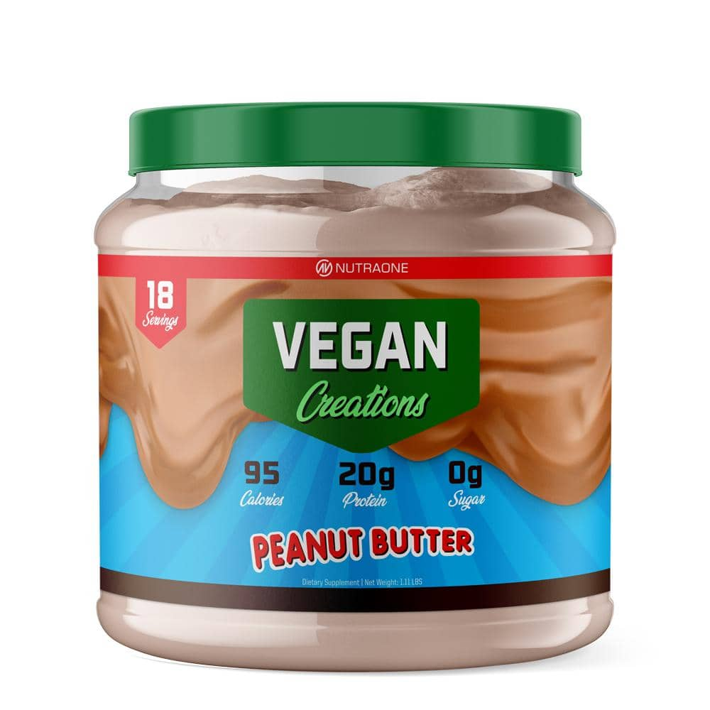 VeganCreations_1lb_PeanutButter_Render_1000x protein shake after running