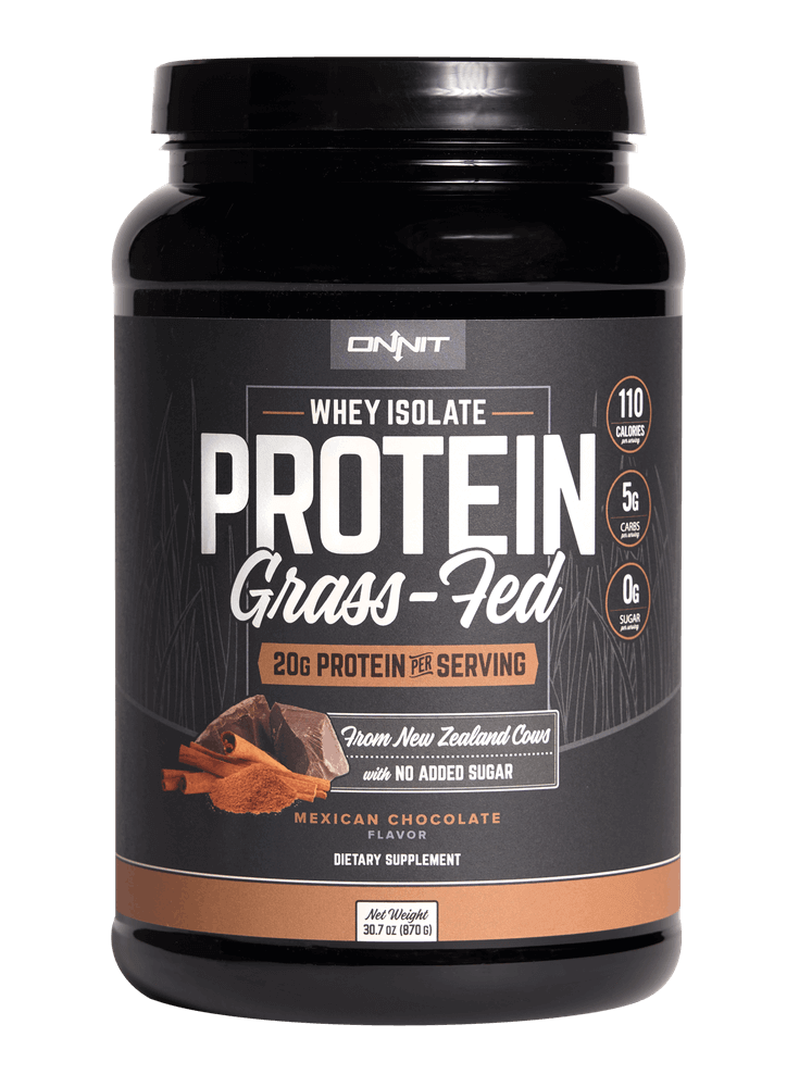onnit grass fed protein protein shake after running