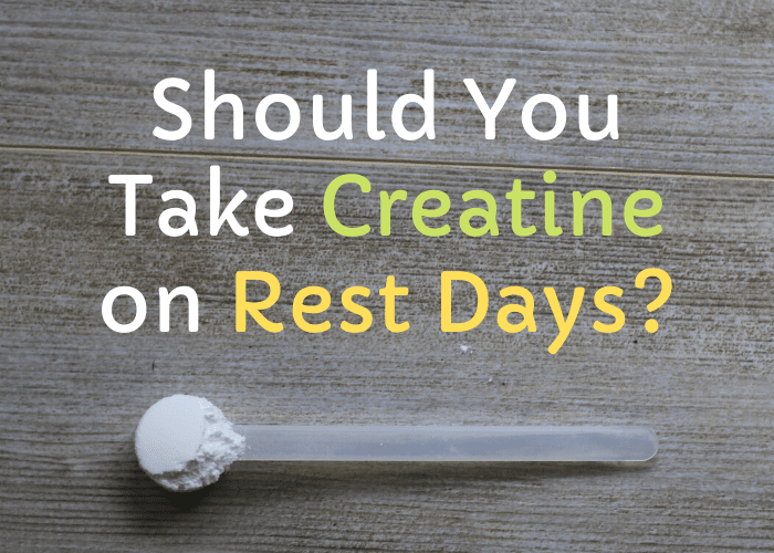 should you take creatine on rest days