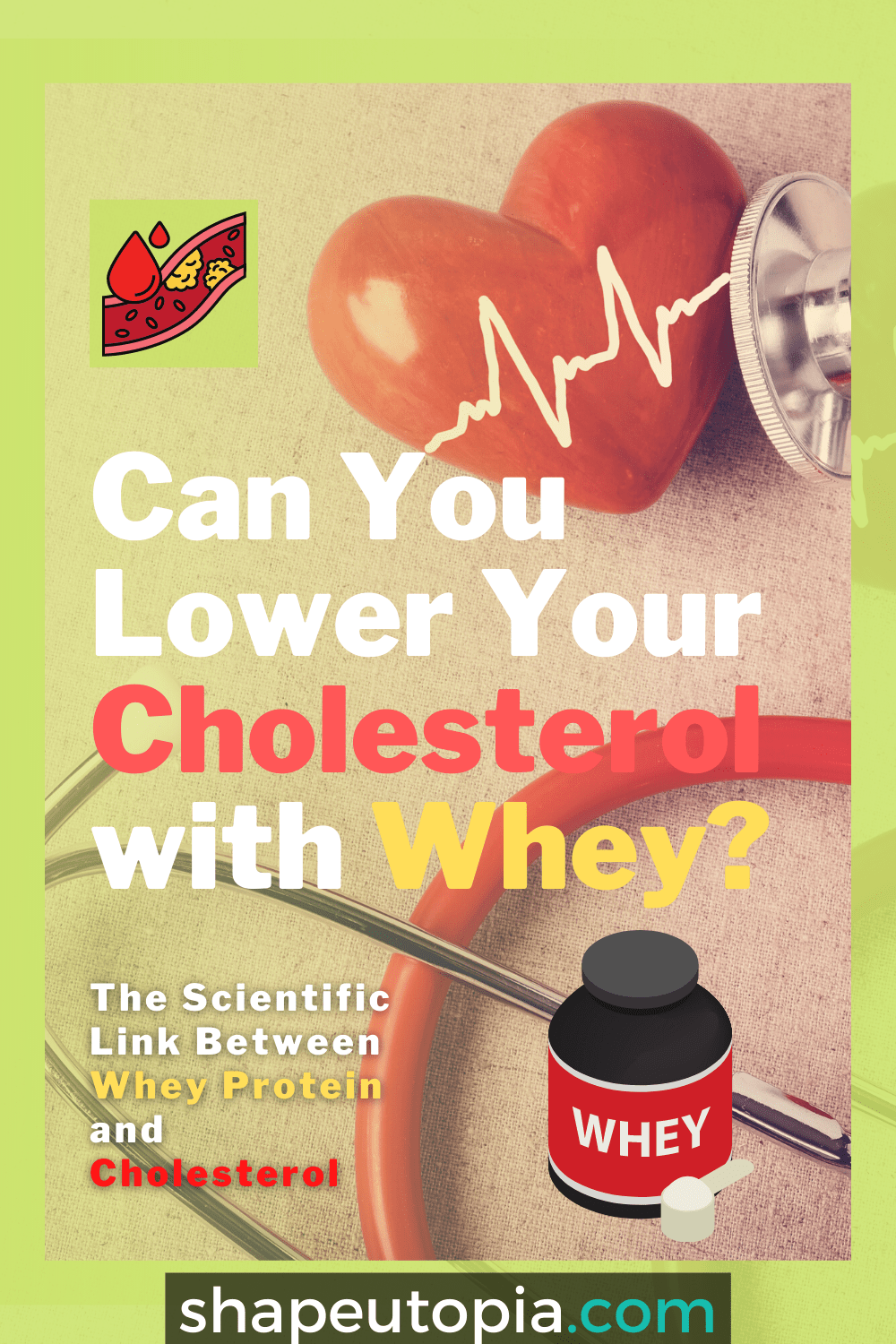 The Scientific Link Between Whey Protein and Cholesterol – Can You Lower Your Cholesterol with Whey