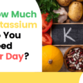 how much potassium do you need per day