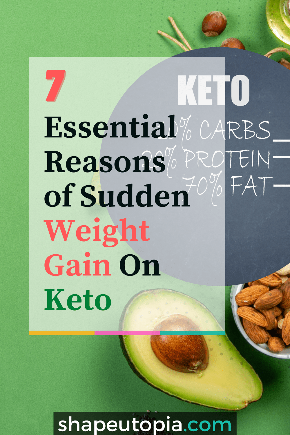 7 Essential Reasons of Sudden Weight Gain On Keto