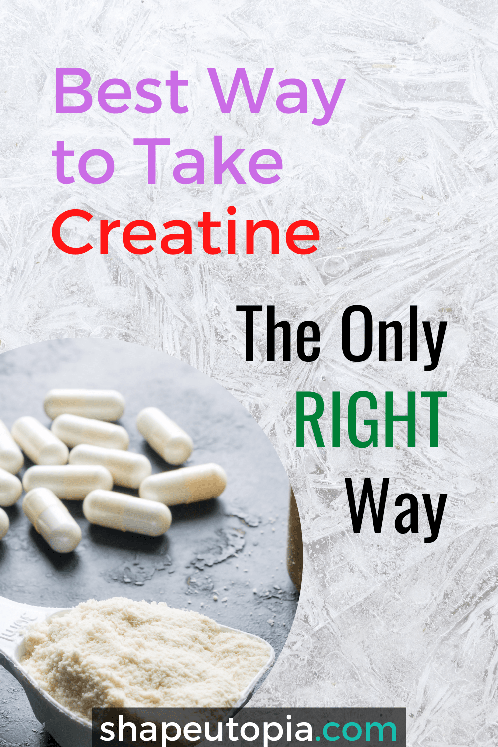 Best Way to Take Creatine – The Only RIGHT way