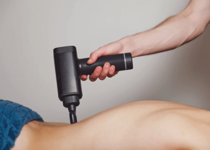 Using A Massage Gun For Lower Back Pain