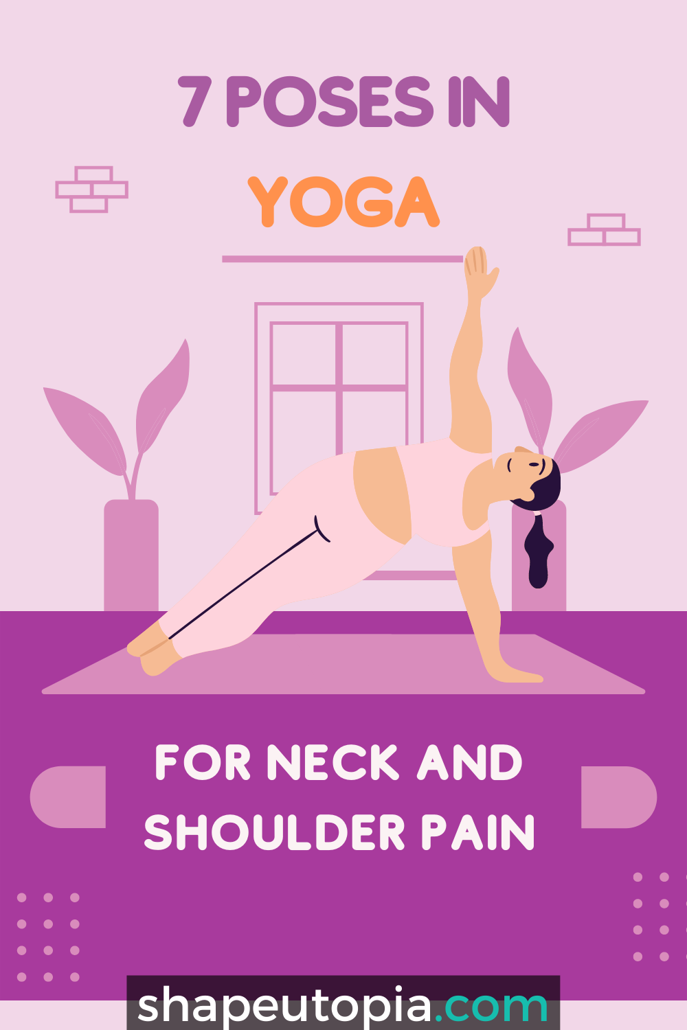 7 Poses in Yoga for Neck and Shoulder Pain