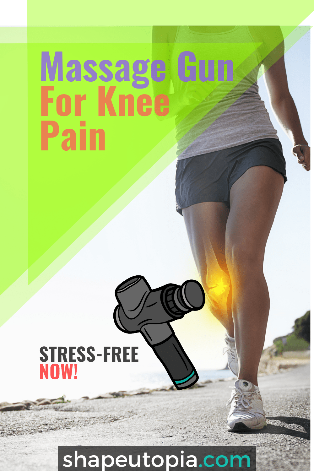 Get Incredible Results With Using Massage Gun For Knee Pain